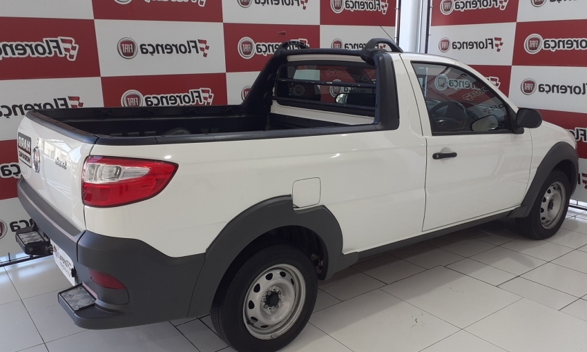 Fiat Strada 1.4 HARD WORKING 2020 imagem 8