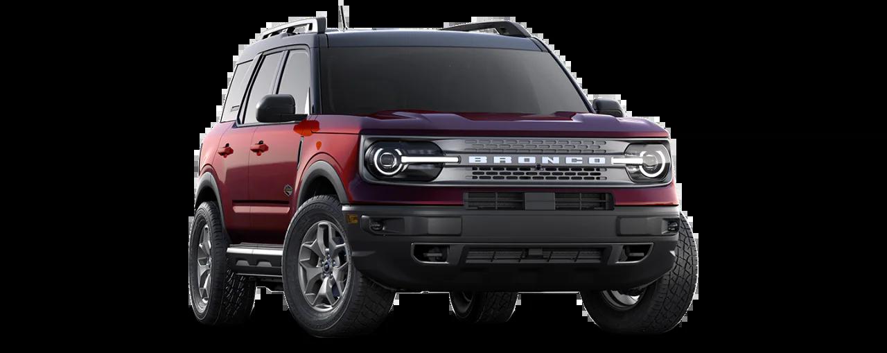 Carros Novos Bronco Vermelho Zadar Ford Brenner Veículos