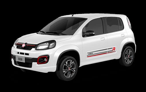 Carros Novos Uno UNO WAY 1.3 DUALOGIC FLEX 2017 4P San Marino Fiat