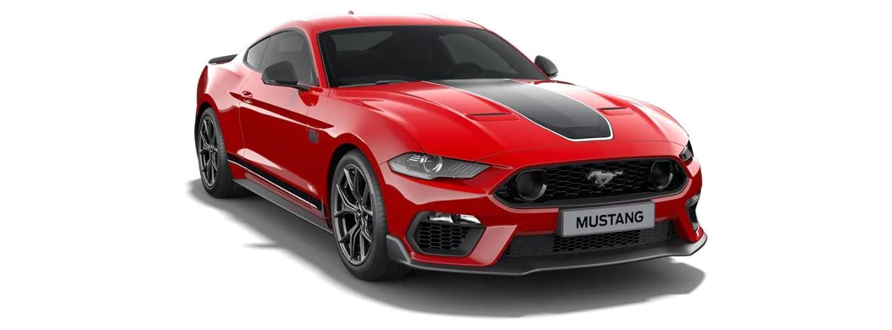 Carros Novos Mustang Mach 1 Vermelho Arizona Ford Brenner Veículos