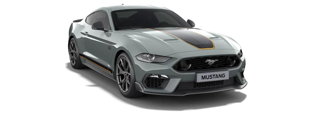 Carros Novos Mustang Mach 1 Cinza Dover Ford Brenner Veículos