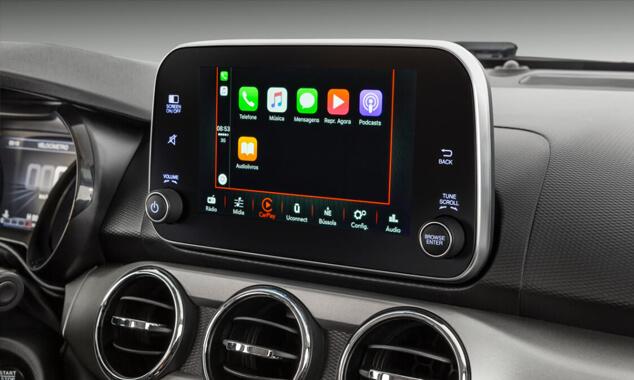 "Carros Novos Argo CENTRAL MULTIMÍDIA UCONNECT 7"" San Marino Fiat"
