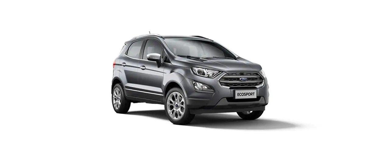 Carros Novos Ford EcoSport Cinza Moscou Ford Brenner Veículos