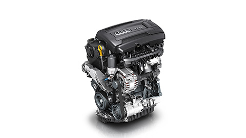 O Motor do TTS Coupé