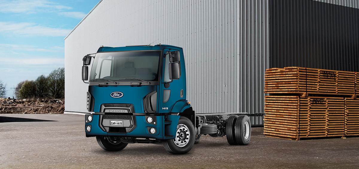 Caminhões Novos Cargo-1419