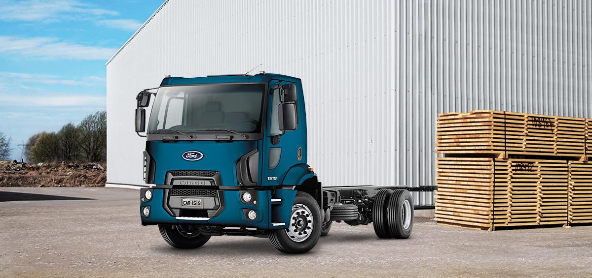 Caminhões Novos Cargo-1519
