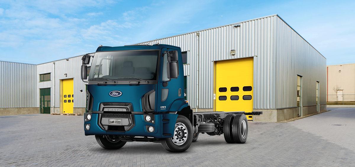 Caminhões Novos Cargo-1723 Torqshift