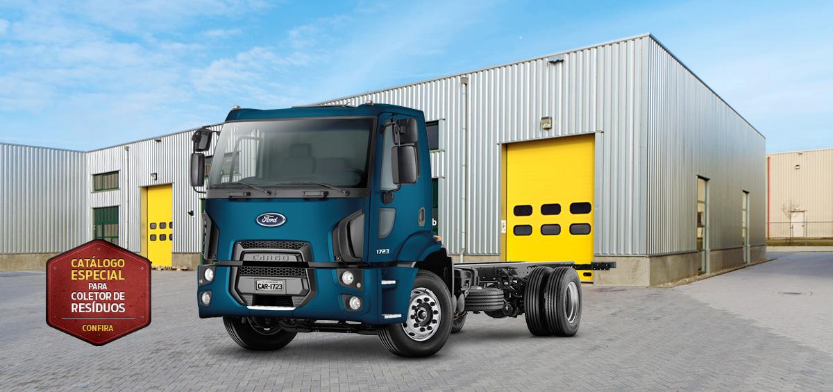 Caminhões Novos Cargo-1723 Kolector