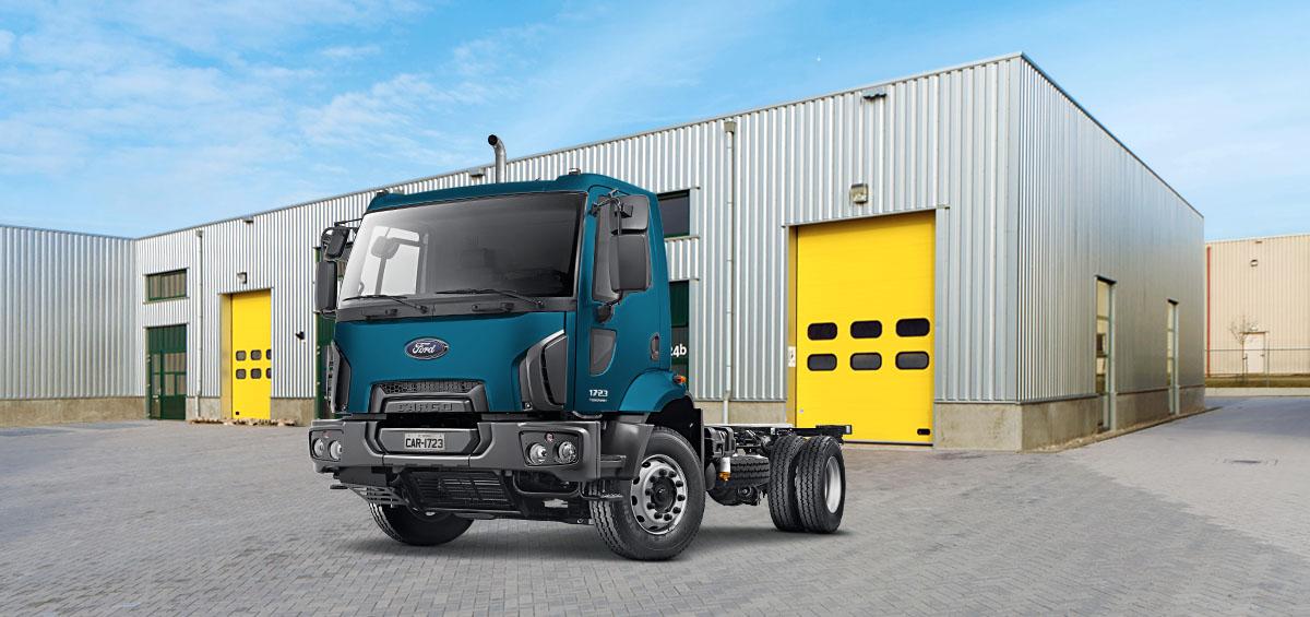 Caminhões Novos Cargo-1723 Torqshift  Kolector