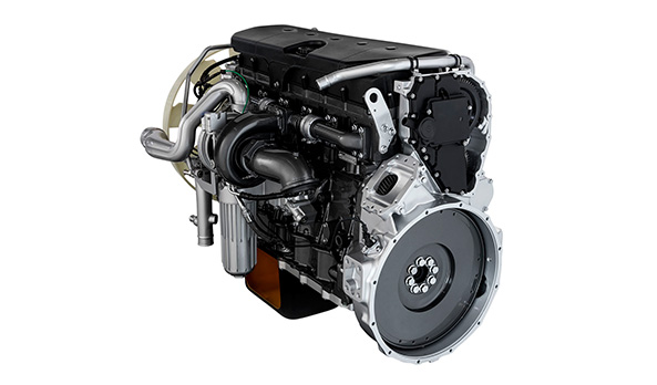 Novo motor FPT 10.3L, com 420 cavalos de potência. Alto desempenho e baixo consumo de combustível.