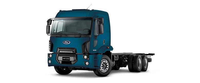 Caminhões Novos Cargo-2431 (6X2)