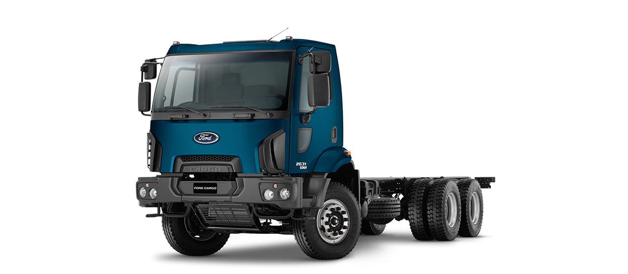 Caminhões Novos Cargo-2631 (6X4)