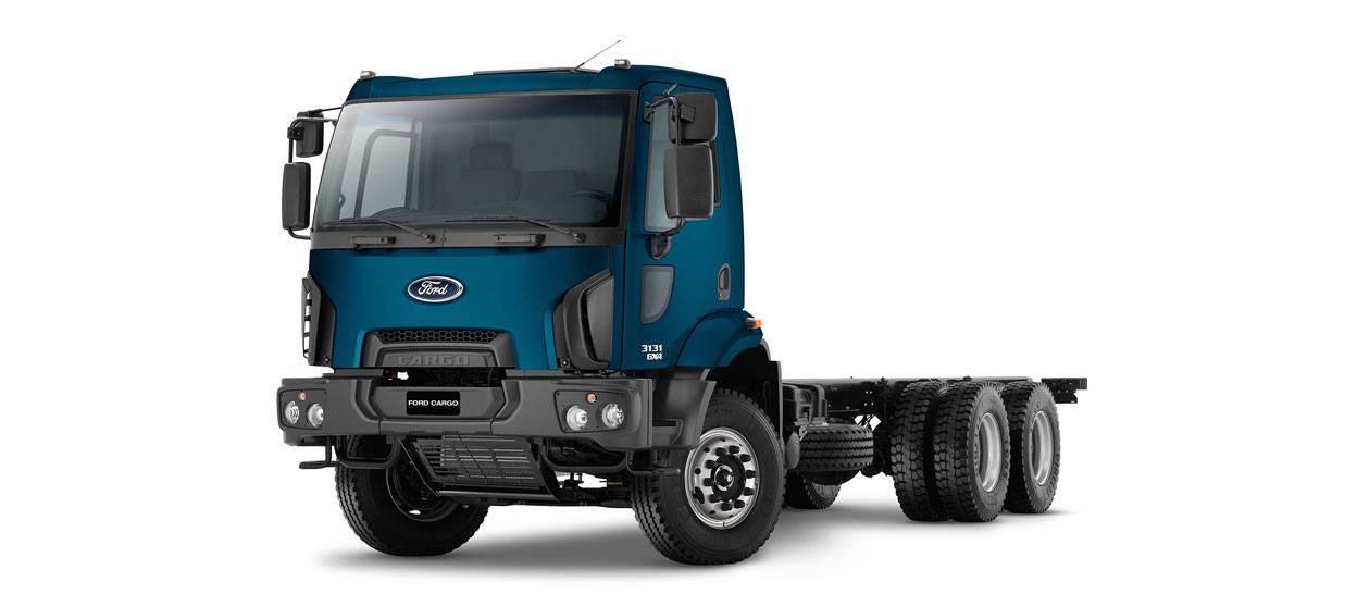Caminhões Novos Cargo-3131 (6x4)