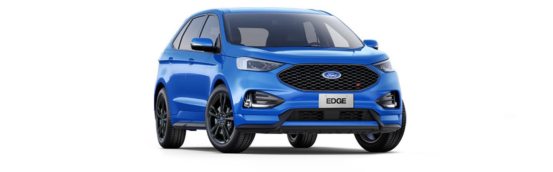 Carros Novos Edge ST Azul Topázio Ford Brenner Veículos