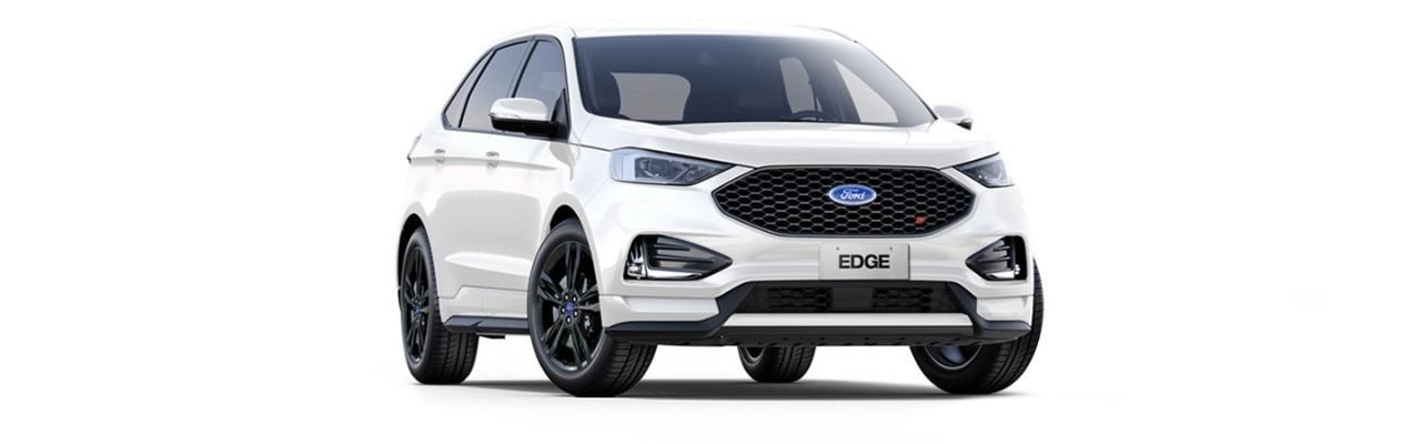 Carros Novos Edge ST Branco Sibéria Ford Brenner Veículos