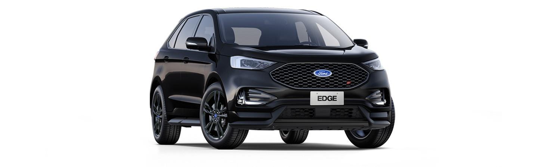 Carros Novos Edge ST Preto Vesúvio Ford Brenner Veículos