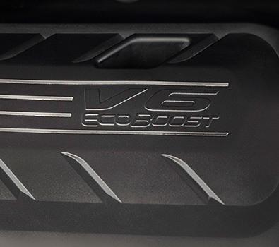 Novo motor 2.7 V6 BiTurbo Ecoboost de 335cv