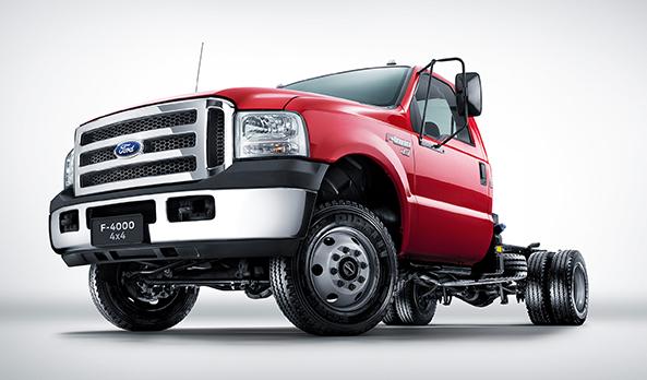Ainda mais potente que sua versão anterior, a nova F-4000 4x4 volta ainda mais forte. Um caminhão que aguenta todas as necessidades do motorista.
