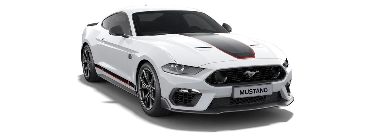 Carros Novos Mustang Mach 1 Branco Ártico Ford Brenner Veículos