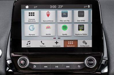 Ford EcoSport SYNC® 3 com Tela de 8''