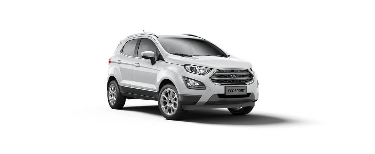 Carros Novos Ford EcoSport Branco Ártico Ford Brenner Veículos