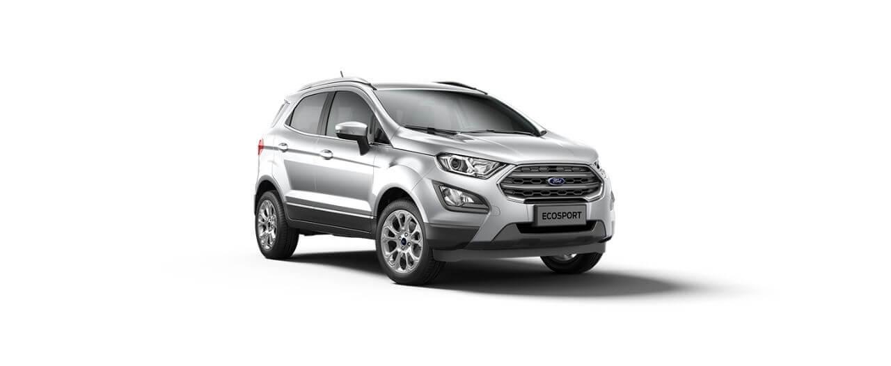 Carros Novos Ford EcoSport Prata Dublin Ford Brenner Veículos