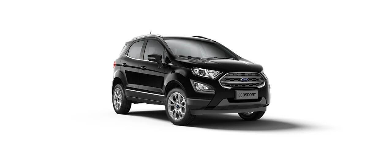 Carros Novos Ford EcoSport Preto Enoby Ford Brenner Veículos