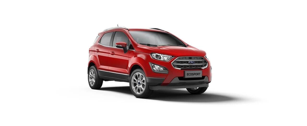 Carros Novos Ford EcoSport Vermelho Arpoador Ford Brenner Veículos
