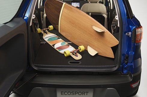 Carros Novos Ford EcoSport Assoalho Inteligente do Porta-Malas Ford Brenner Veículos