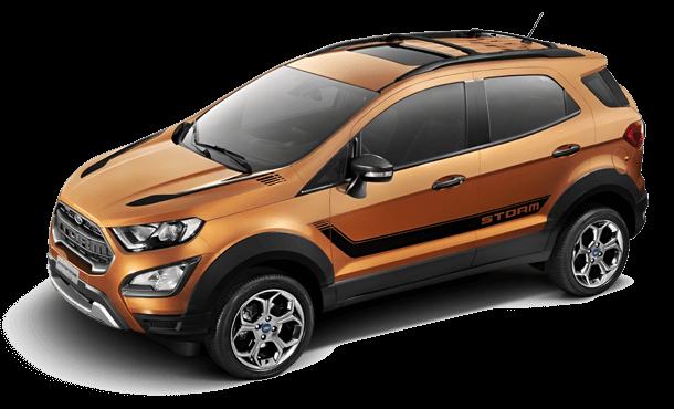 Ford EcoSport Storm Design que impressiona