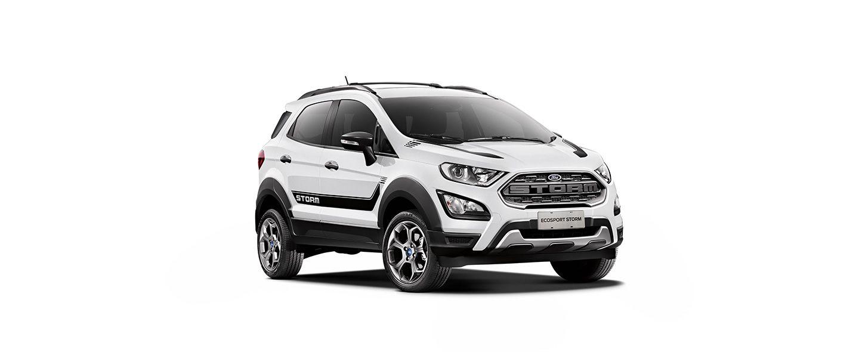 Carros Novos Ford EcoSport Storm Branco Ártico Ford Brenner Veículos