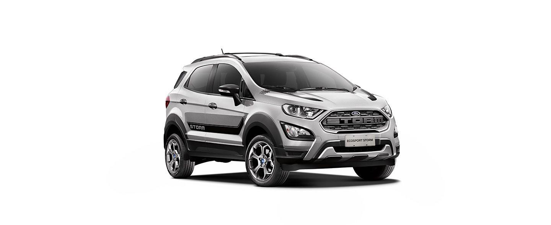 Carros Novos Ford EcoSport Storm Prata Dublin Ford Brenner Veículos