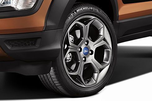 "Carros Novos Ford EcoSport Storm Rodas 17"" exclusivas Dark London Gray Ford Brenner Veículos"
