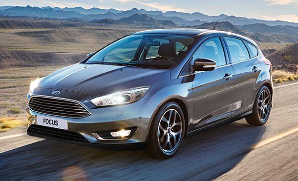 Ford Focus Hatch Exterior e Interior