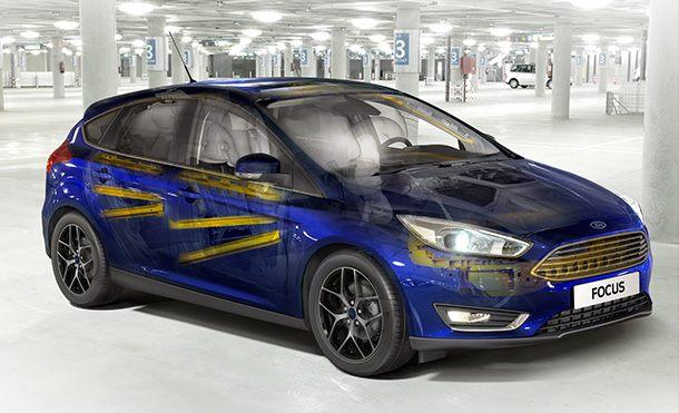 Ford Focus Hatch Segurança