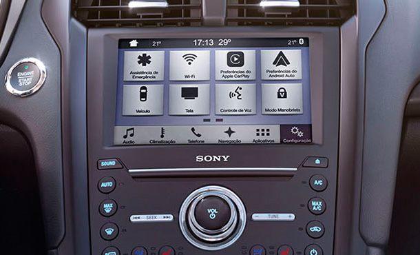 Ford Fusion Tecnologia
