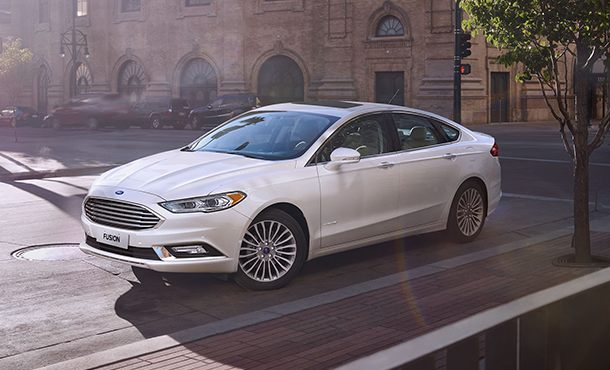 Ford Fusion Hybrid Segurança