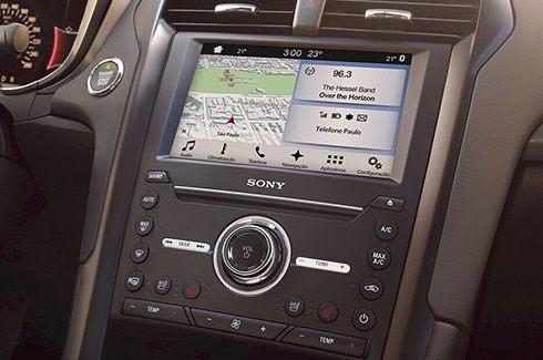 SYNC® 3 com Android Auto e Apple CarPlay