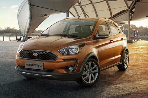 Carros Novos Ford Ka Freestyle Design exclusivo Ford Brenner Veículos
