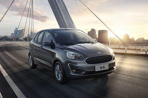 Carros Novos Ford Ka Mais conforto na hora de digirir Ford Brenner Veículos