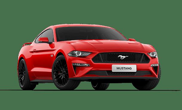 Ford Mustang Exterior e Interior.