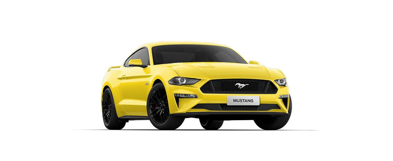Carros Novos Ford Mustang Amarelo Silverstone Ford Brenner Veículos