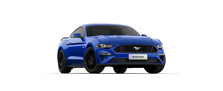 Carros Novos Ford Mustang Azul Belize Ford Brenner Veículos