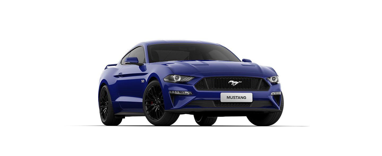 Carros Novos Ford Mustang Azul Creta Ford Brenner Veículos