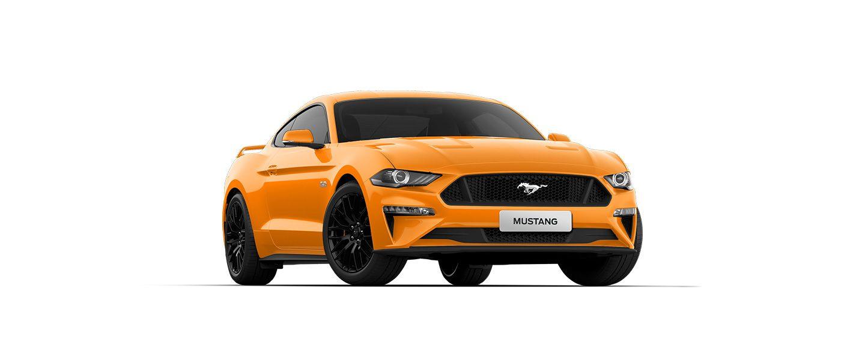 Carros Novos Ford Mustang Laranja Daytona Ford Brenner Veículos