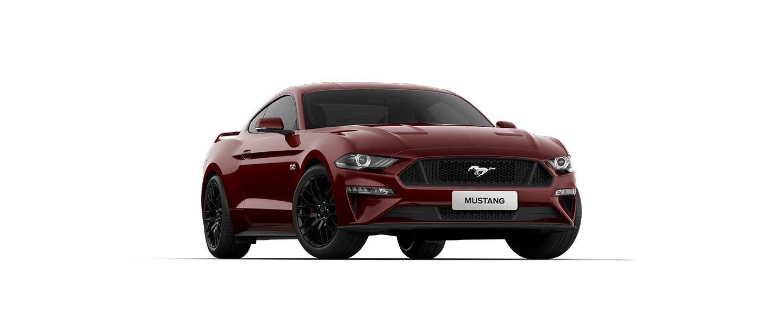 Carros Novos Ford Mustang Vermelho Bucareste Ford Brenner Veículos