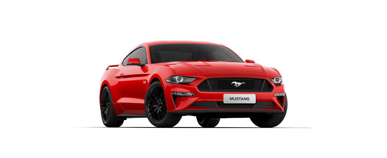 Carros Novos Ford Mustang Vermelho Vermont Ford Brenner Veículos