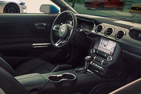 Carros Novos Ford Mustang Interior Esportivo Ford Brenner Veículos