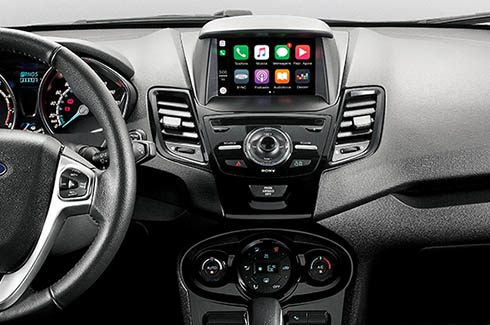 SYNC® 3 compatível com Android Auto e Apple CarPlay