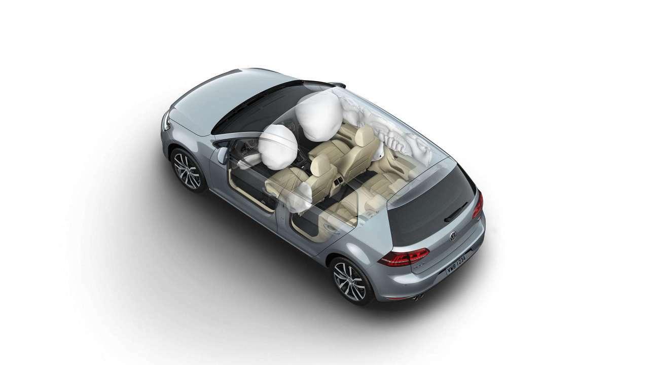 7 Airbags, os seguranças infláveis